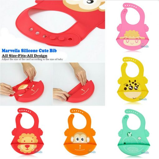 marveila-silicone-baby-cute-bib-mix