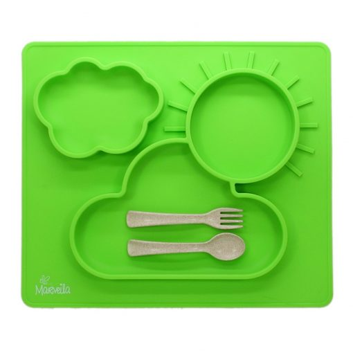 marveila-silicone-happy-platemat-green