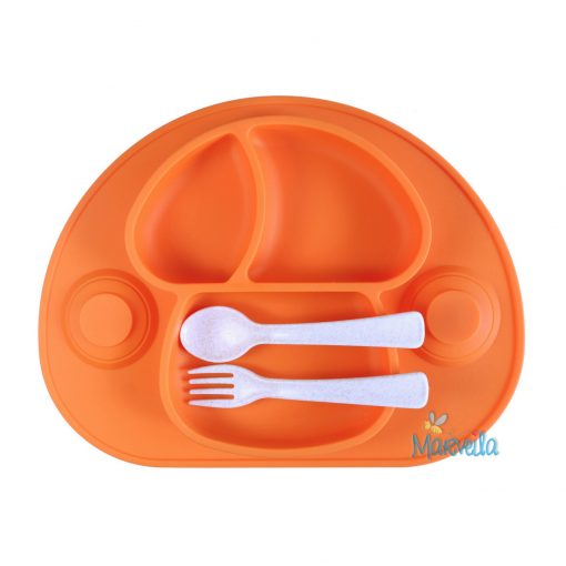 marveila-silicone-happy-platemat-mushroom-orange