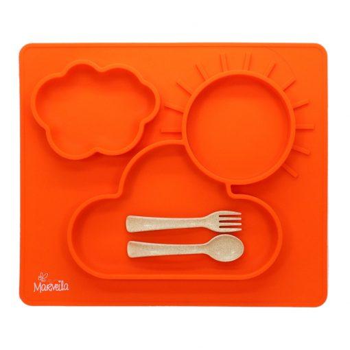 marveila-silicone-happy-platemat-orange